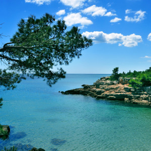 relaxing sea scenery